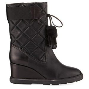 New Aquatalia Caliana Quilted Boot, 5.5